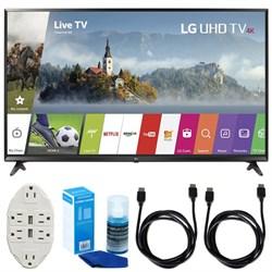 LG 43-inch UHD 4K HDR Smart LED TV (2017 Model) w/ Access...