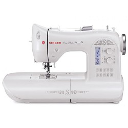 Singer One Plus 221-Stitch Computerized Sewing Machine with LCD Screen and DVD