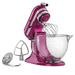 KitchenAid Artisan Series 5-Quart Stand Mixer in Raspberr...
