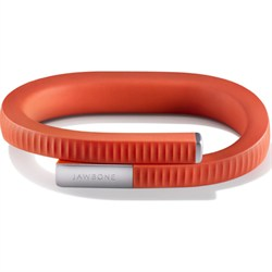 Jawbone UP 24 Bluetooth Enabled Small - Retail Packaging - Persimmon Red - OPEN BOX JBUP24SMPEROB