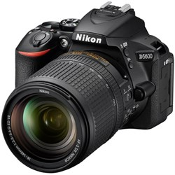 Nikon D5600 24.2 MP DX-Format DSLR Camera w/ AF-S 18-140m...