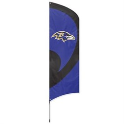 Click here for Party Animal Ravens Tall Team Flag w Pole prices