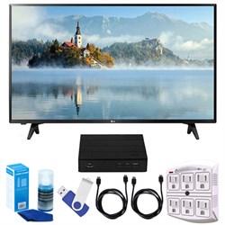 """LG 43"""" Full HD 1080p LED TV (2017 Model) + Terk HD TV Tun..."""