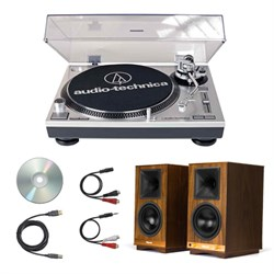 Audio-Technica Professional Stereo Turntable and Klipsch ...
