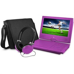 Click here for e-matic EPD909PR 9 DVD PLAYER BUNDLE PURPLE prices