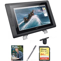 "Wacom 22"" HD wide-format Interactive Pen Display w/ Grip ..."