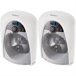 Holmes Bathroom Safe Heater 2-Pack - HFH436WGL-UM