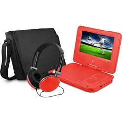 Click here for e-matic EPD707RD 7 DVD PLAYER BUNDLE RED prices