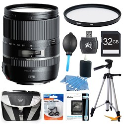 Tamron 16-300mm f/3.5-6.3 Di II PZD MACRO Lens Pro Kit for Sony Cameras
