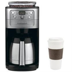 Cuisinart Grind & Brew Thermal 12-Cup Automatic Coffeemaker DGB-900BC w/ Copco 16oz. Mug E1CUIDGB900BC