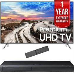 "Samsung 82"" UHD 4K HDR LED Smart HDTV 2017 Model w/ Blu-R..."