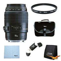 Canon EF 100mm F/2.8 Macro Lens Exclusive Pro Kit