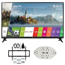 """LG LJ550B Series 32"""""""" Class Smart LED HDTV (2017 Model) w/ Wall Mount Bundle"""" E2LG32LJ550B"""