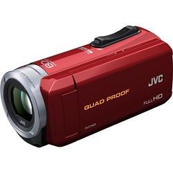 JVC GZ-R10R Quad Proof Red 2.5 MP 40x Dynamic Zoom 60x Digital Zoom HD Camcorder