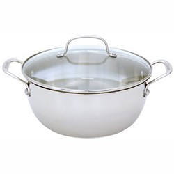 Cuisinart 755-26GD - Chef's Classic Stainless 5-1/2-Quart Multi-Purpose Pot w/ Glass Cover CUI75526GD