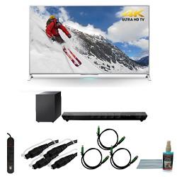 Sony XBR-65X800B 65-inch 4K Ultra HD Smart LED TV Motionflow HT-ST5 Sound Bar Bundle