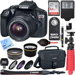 Canon EOS Rebel T6 Digital SLR Camera with EF-S 18-55mm I...