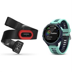 Garmin Forerunner 735XT GPS Running Watch Run-Bundle - Mi...