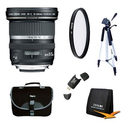 Canon EF-S 10-22mm F/3.5-4.5 USM Lens Exclusive Pro Kit