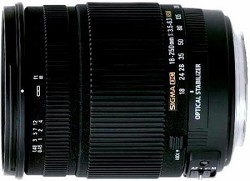 Sigma 18-250mm F3.5-6.3 DC OS HSM Lens for Canon EOS Macr...