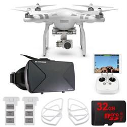 DJI Phantom 3 Advanced Quadcopter Drone w/ HD Camera FPV Virtual Reality Experience E9DJIPHANTOM3
