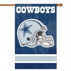 Party Animal Cowboys Helmet Applique Banner PARAFDA