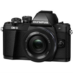 Olympus OM-D E-M10 Mark II Mirrorless Digital Camera w/ 1...