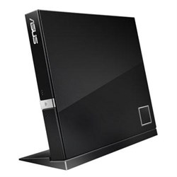 ASUS External Slim BluRay Disc Com ASUSBC06D2XUBLKGAS