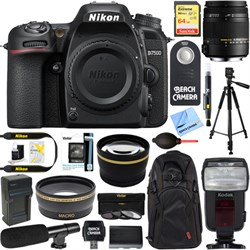 Nikon D7500 20.9MP Digital SLR Camera Body + 18-250mm Mac...