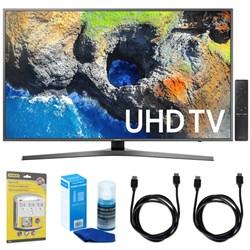 """Samsung 40"""" UHD 4K HDR LED Smart HDTV, Black (2017 Model)..."""