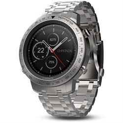 Garmin Fenix Chronos GPS Fitness Watch w/ Brushed Stainle...