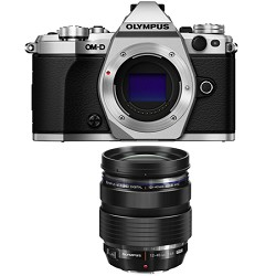 Olympus OM-D E-M5 Mark II Micro Four Thirds Silver Digita...