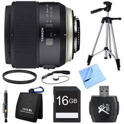 Tamron SP 35mm f/1.8 Di VC USD Lens for Nikon Mount Bundle