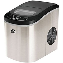 Igloo Compact Ice Maker (Stainless Steel) -