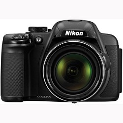 Nikon CoolPix P520 18MP Digital Camera Black