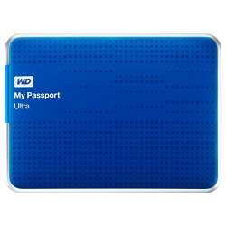 Western Digital My Passport Ultra 2 TB USB 3.0 Portable Hard Drive - WDBMWV0020BBL-NESN (Blue)