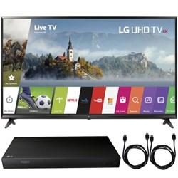 "LG 65UJ6300 - 65"" UHD 4K HDR Smart LED TV (2017 Model) + ..."