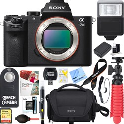 Sony Alpha 7II Mirrorless Interchangeable Lens Camera Bod...