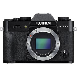 Fuji X-T10 Mirrorless 16.3MP Full HD Black Compact System...