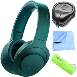 Sony Wireless NC On-Ear Bluetooth Headphone w/ NFC Viridi...