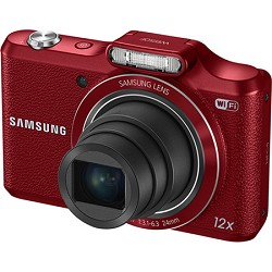 Samsung WB50F 16.2MP 12x Opt Zoom Smart Digital Camera - Red