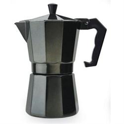 Epoca Stovetop Espresso 6cup Black EPOPEBK3306