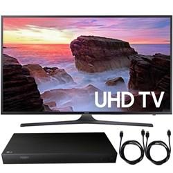 "Samsung UN55MU6300 55"" 4K Ultra HD Smart LED TV (2017) + ..."