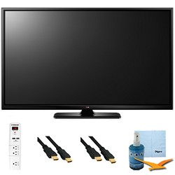 LG 60-Inch Plasma 1080p 600Hz Smart 3D HDTV Plus Hook-Up Bundle (60PB6900)