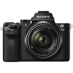 Sony Alpha 7II Mirrorless Interchangeable Lens Camera wit...