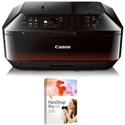 Canon PIXMA MX922 WiFi Inkjet All-In-One Printer + Corel ...