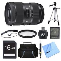 Sigma 24-35mm F2 DG HSM Standard-Zoom Lens for Nikon 16GB...