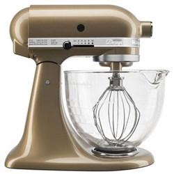 KitchenAid Artisan Series 5-Quart Stand Mixer in Champagn...