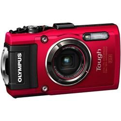 Olympus TG-4 Tough Digital Camera- Red, 16MP, f/2.0, 4X, ...