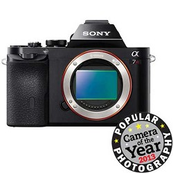 Sony A7R (Alpha 7R) Interchangeable Lens Camera - Body Only